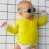 Lunettes de soleil bébé Diabola 2.0 - 0 à 1 an - Vert d'eau