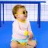 Lunettes de soleil bébé Diabola 2.0 - 0 à 1 an - Jaune