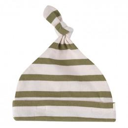 Bonnet - Rayures bretonnes - olive
