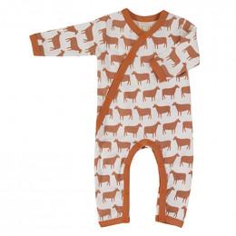Pyjama coton bio - Mouton sienna