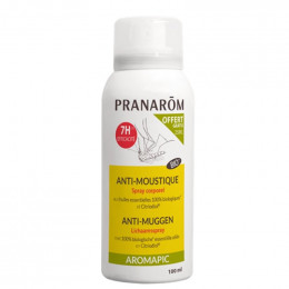 Aromapic : spray corps anti moustique BIO - 100 ml