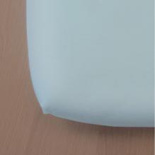 Drap housse Green Clim - 90 x 200 cm - Bleu clair