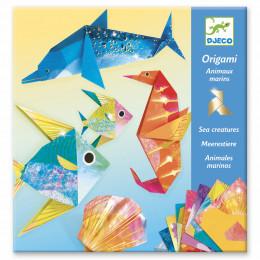 Origami - Animaux marins