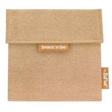 Pochette lavable et réutilisable Snack'n'Go - Nature Brown