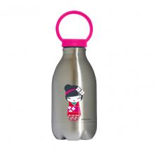 Gourde enfant Loopy Inox - Kokeshi - 450 ml