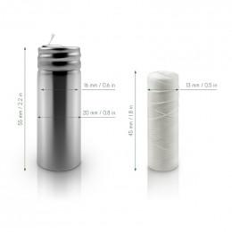Distributeur de fil dentaire + Recharge en soie