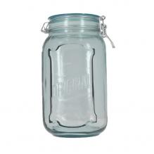Pot hermétique en verre recyclé - 1,9 L