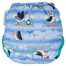 Culotte de protection pour couches lavables - Taille unique pressions - Puffin