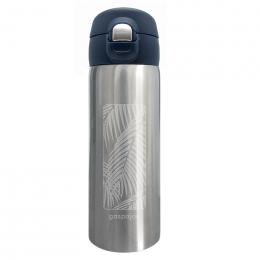 Mug isotherme Trendy Inox - Palmier - 350 ml