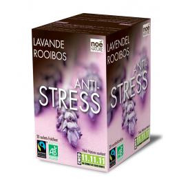 Infusion bio-équitable : ANTI-STRESS LAVANDE / ROOIBOS