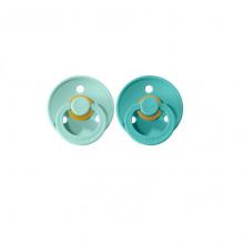 Set de 2 tétines BIBS - mint & turquoise