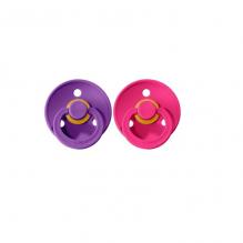 Set de 2 tétines BIBS - purple & raspberry