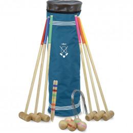 Jeu de croquet Senior en bois 6 joueurs - à partir de 5 ans