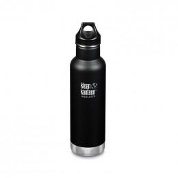 Gourde bouteille isotherme en inox - 592 ml - Black