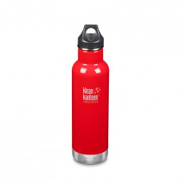 Gourde bouteille isotherme en inox - 592 ml - Mineral red