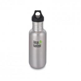 Gourde bouteille en inox brossé  - 533 ml