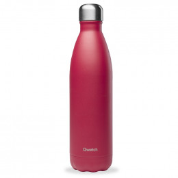 Bouteille nomade isotherme 750 ml - Framboise
