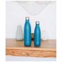 Bouteille nomade isotherme 750 ml - Bleu canard