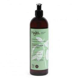 Shampooing 2 en 1 nettoyant et démêlant au savon d'Alep pour cheveux secs - 500 ml