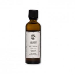 Diffuseur naturel - Eucalyptus assainissant - RECHARGE 75 ml