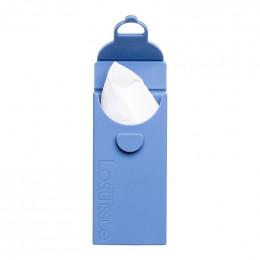 LastTissue - Paquet de mouchoirs lavables en coton - Bleu
