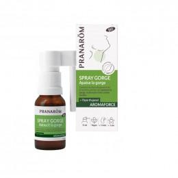 Aromaforce : spray BIO pour la gorge
