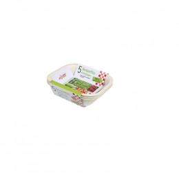 5 barquettes éco compostables - congélation et cuisine