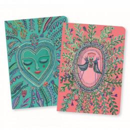 Set de 2 petits carnets - Love Aurélia