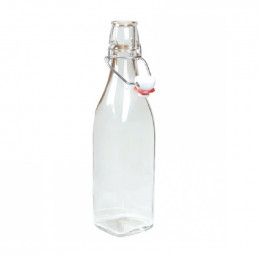 Bouteille en verre carrée - 500 ml