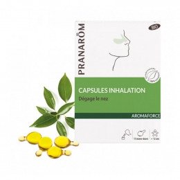 Aromaforce : capsules inhalation BIO