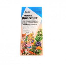 Floradix Kindervital - Multivitamine avec calcium - 250 ml