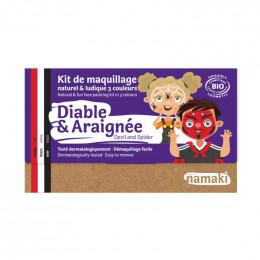 Kit de maquillage Bio 3 couleurs - Diable et araignée - à partir de 3 ans