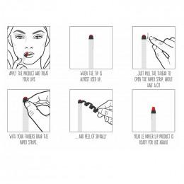 Rouge à lèvres hydratant glossy nude - Le papier - 6 g - Blossom