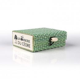 Boîte à savon en bambou - Vert