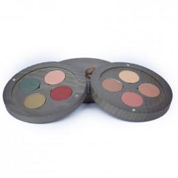 Palette rechargeable ombres à paupières BIO - Gipsy Travel