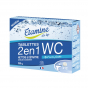 Tablettes WC 2 en 1 - Nettoie et détartre - 12 tablettes