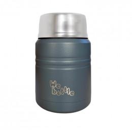 Lunchbox Isotherme en Inox avec cuillère - Dark Blue - 500 ml