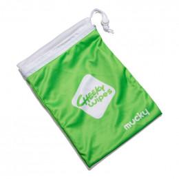 Sac imperméable avec filet de lavage intégré pour lingettes sales°