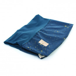 Housse de matelas à langer Calma - Gold stella & Night blue