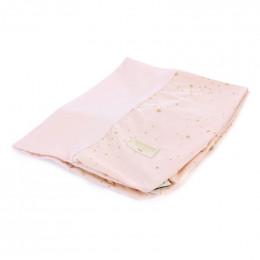 Housse de matelas à langer Calma - Gold stella & Dream pink