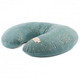 Coussin de maternité Sunrise - Gold confetti & Magic green