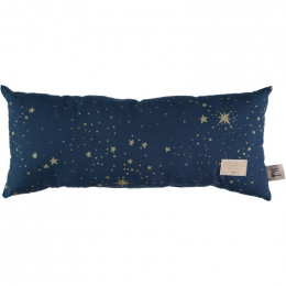 Coussin Hardy - Gold stella & Night blue