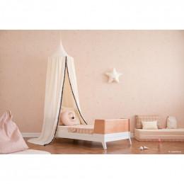 Coussin lune Pierrot - Misty pink