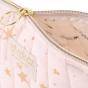 Trousse de toilette Holiday - Gold stella & Dream pink - large