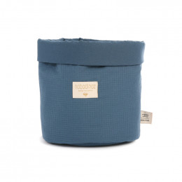 Panier Panda en nid-d'abeilles - Night Blue - medium