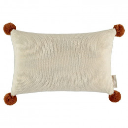 Coussin en tricot So natural - natural