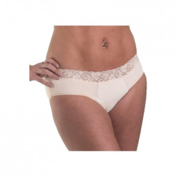 Culotte menstruelle - style dentelle - Amande