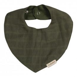Bavoir bandana en tétra - Olive Green