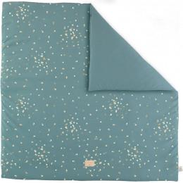 Tapis de jeu Colorado - Gold confetti & Magic green