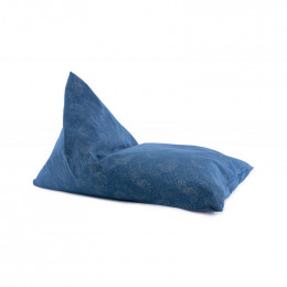 Pouf Essaouira - Gold Bubble & Night Blue